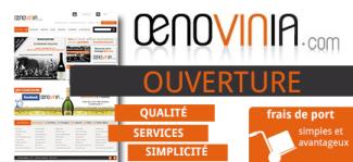 Le site OENOVINIA est en ligne !!