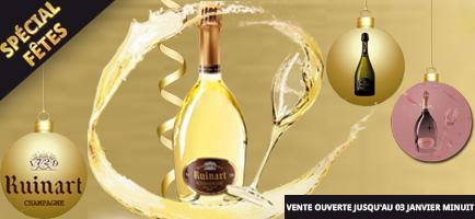 Vente Privée : Champagne Ruinart