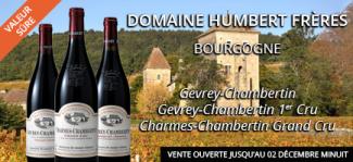 Les vins du domaine Humbert Frères