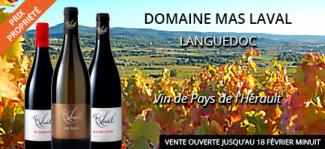 Les vins du MAS LAVAL en vente privée