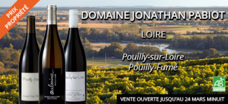 Pouilly-Fumé de Jonathan PABIOT en vente privée