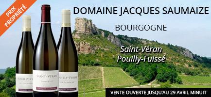 Les vins de Jacques SAUMAIZE en vente privée