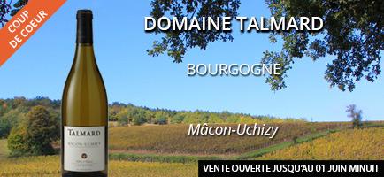 Vente privée des vins du domaine Talmard